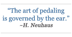 heinrich neuhaus - quote about piano pedal
